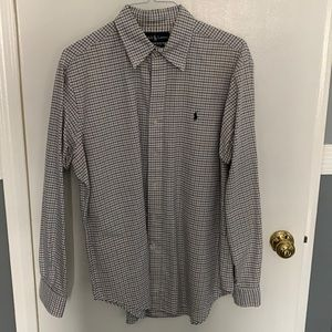 Men's Polo Ralph Lauren button formal shirt